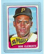 1965 Topps Baseball # 160 Bob Clemente Card Pirates - $101.67