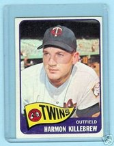 1965 Topps Baseball Card # 400 Harmon Killebrew Twins - $64.35