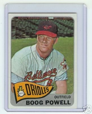 Primary image for 1965 Topps Baseball #560 Boog Powell Orioles card