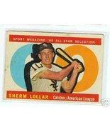 1960 Topps Baseball Card AS Sherm Lollar # 567 - $11.50