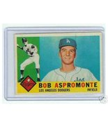 1960 Topps Baseball Card Bob Aspromonte #547 - $22.52
