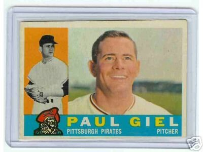 Primary image for 1960 Topps Baseball Card Paul Geil #526 Pirates
