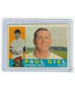 1960 Topps Baseball Card Paul Geil #526 Pirates - $23.17