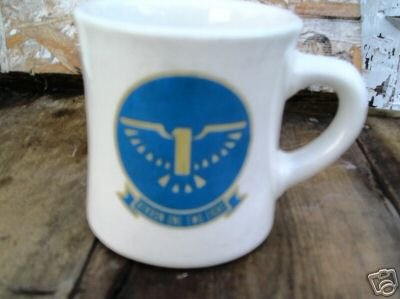 Atkron One Two Eight 128 Navy Mug Larry Ultima China