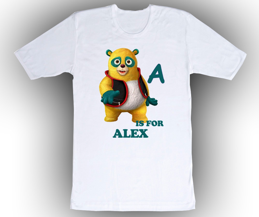 Primary image for Personalized Special Agent Oso ABC Birthday T-Shirt Gift Add Name