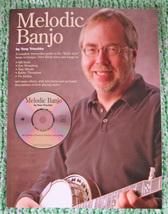 Melodic Banjo Book w/CD/Tony Trischka/Keith Style/New - $21.50