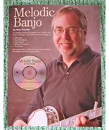 Melodic Banjo Book w/CD/Tony Trischka/Keith Style/New - $21.50