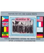 PILIPINAS 5 C. JFK Souvenir Sheet - $2.95
