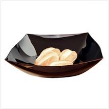 Black 64 OZ Square Plastic Bowls/Set of 50 - $196.99