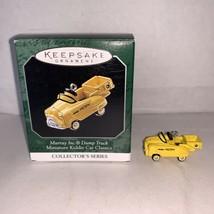 Hallmark Keepsake Ornament Miniature Kiddie Car Classic Murray Dump Truc... - $5.00