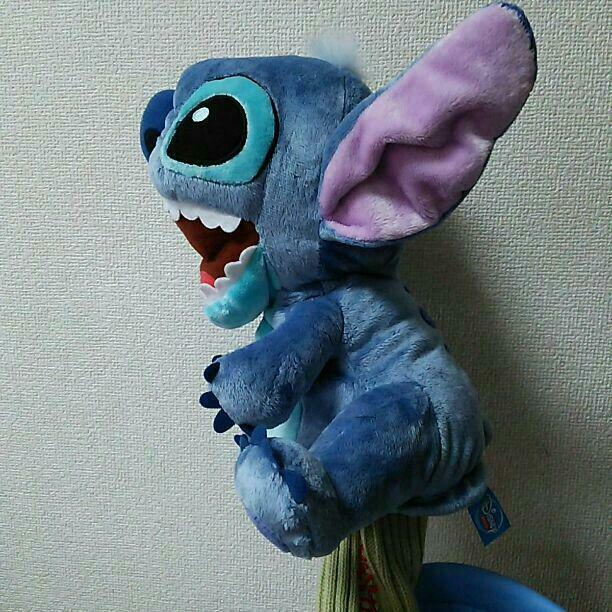 Disney Lilo & Stitch Golf Head Cover HCD800 Driver cover Plush Doll 460cm3 Japan