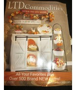 LTD COMMODITIES CATALOG AUGUST 2019 AROUND THE WORLD VALUES BRAND NEW - $9.99