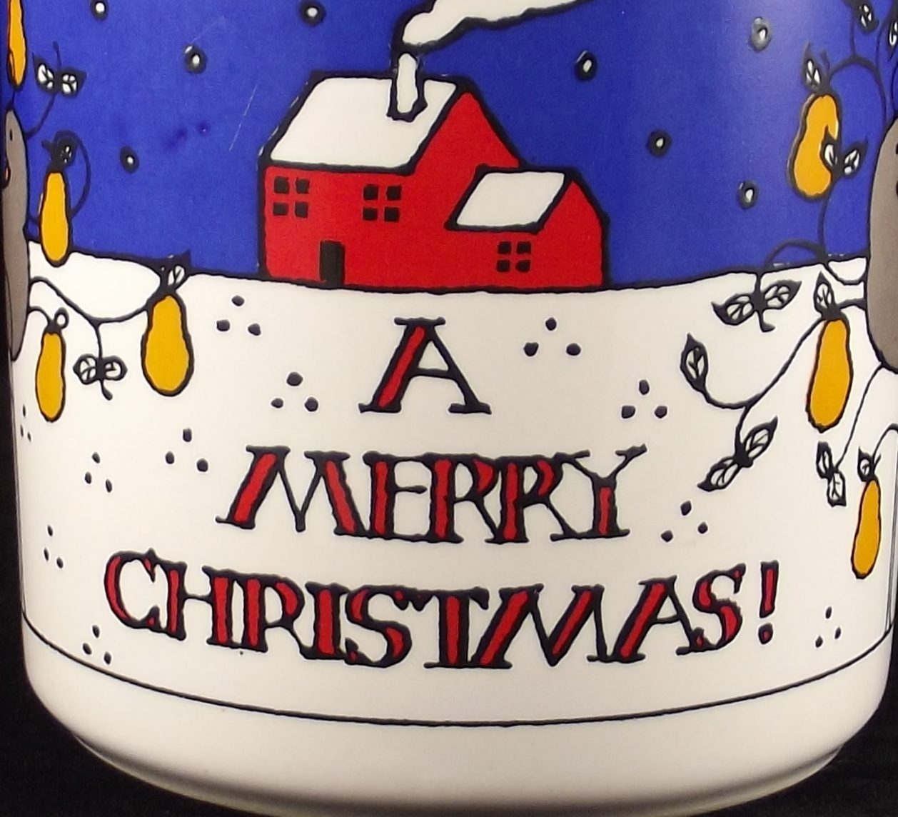 Merry Christmas coffee mug FPC England