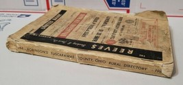 Robinson's Rural  Directory 1968 Tuscarawas County Ohio Dover New Philad... - $19.75