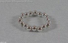 Sterling Silver Bead Stretch Toe Ring - $11.99