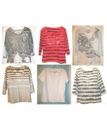 Onque Casuals Elements of Style Short, 3/4 & Long Sleeve Tops Sizes M, L... - $22.49