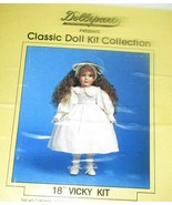 """Dollparts Classic Doll Kit Vicky 18"""" in Box - $8.95"""