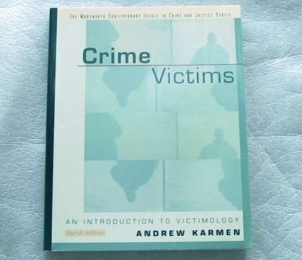 Crime Victims: An Introduction to Victimology 4th Edition