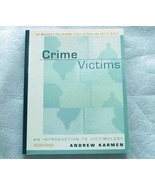 Crime Victims: An Introduction to Victimology 4th Edition - $7.95
