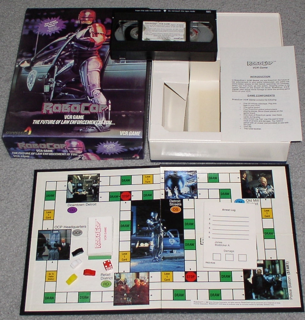 Robocop VCR Game by Spinnaker