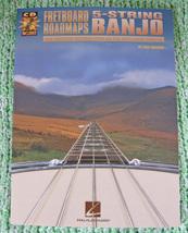 Fretboard Roadmaps/5 String Banjo/Book w/CD/New - $13.75