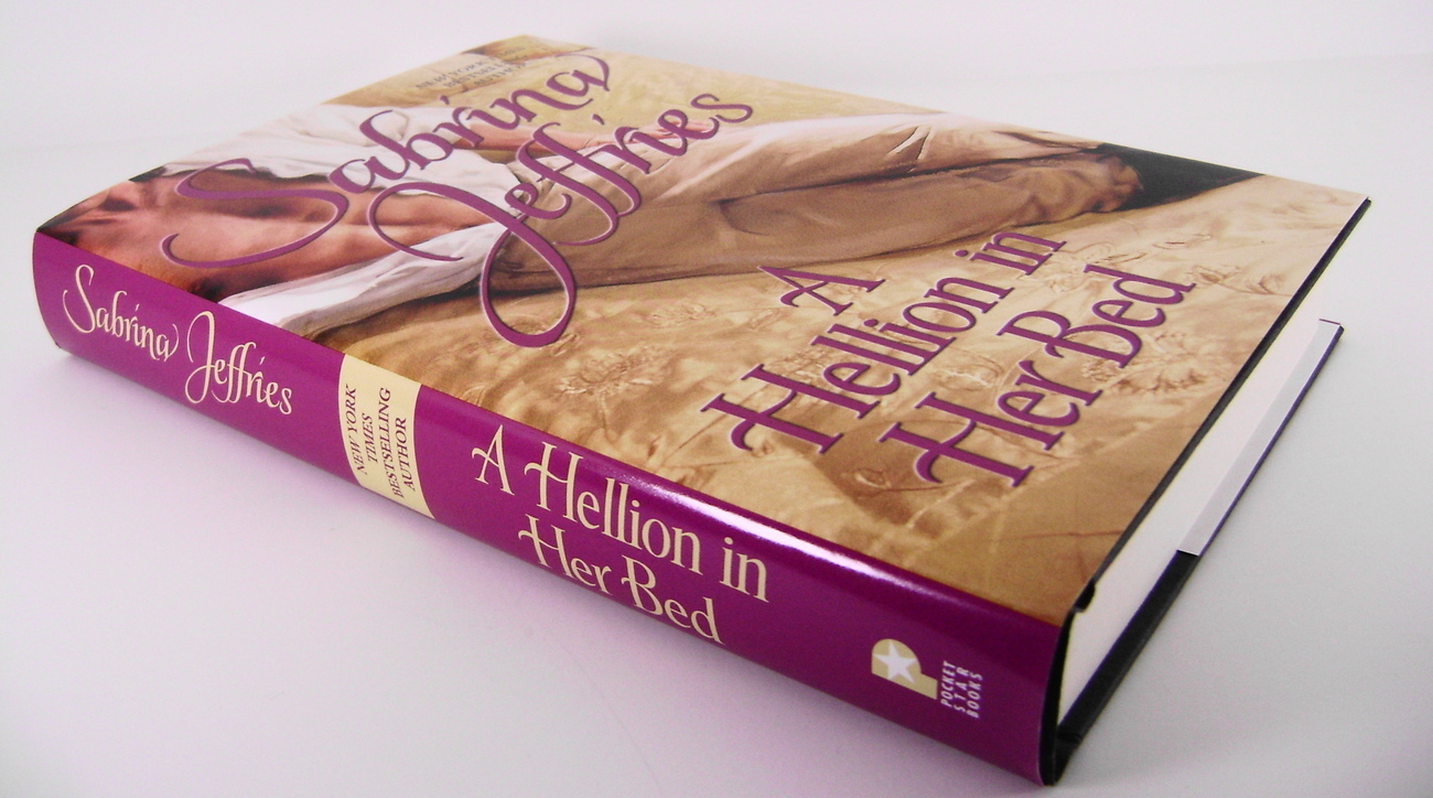 A Hellion In Her Bed Hellions of Hallstead By Sabrina J HC
