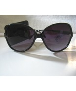 Black Rhinestone Sunglasses Plus Size - $12.00