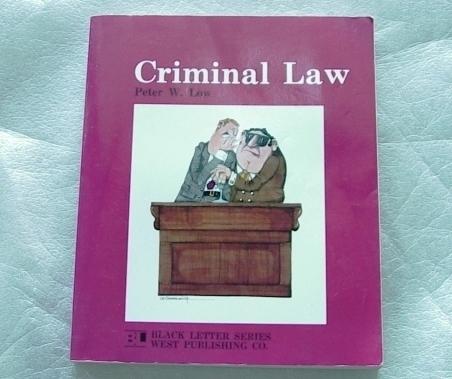 Book crimiinal law