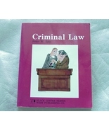 Criminal Law - Black Letter Series - Paperback - $7.95