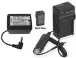 Battery + Charger for Panasonic SDR-H85S SDR-H95 SDR-T50 - $26.97