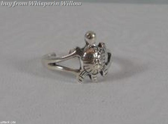 Ss turtle toe ring 1