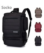 SOCKO® Backpack School Laptop Notebook Shoulder Bags Strap Travel Boys&G... - $63.01