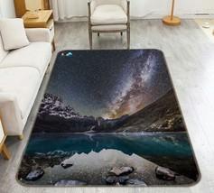 3D Night Hills Sky 105 Non Slip Rug Mat Room Mat Quality Elegant Carpet ... - $105.35+