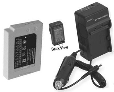 Battery + Charger for Samsung SDCMS21S SDCMS21B SDC-K512