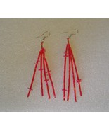 Hallmark  ship  pink earrings group 010 thumbtall