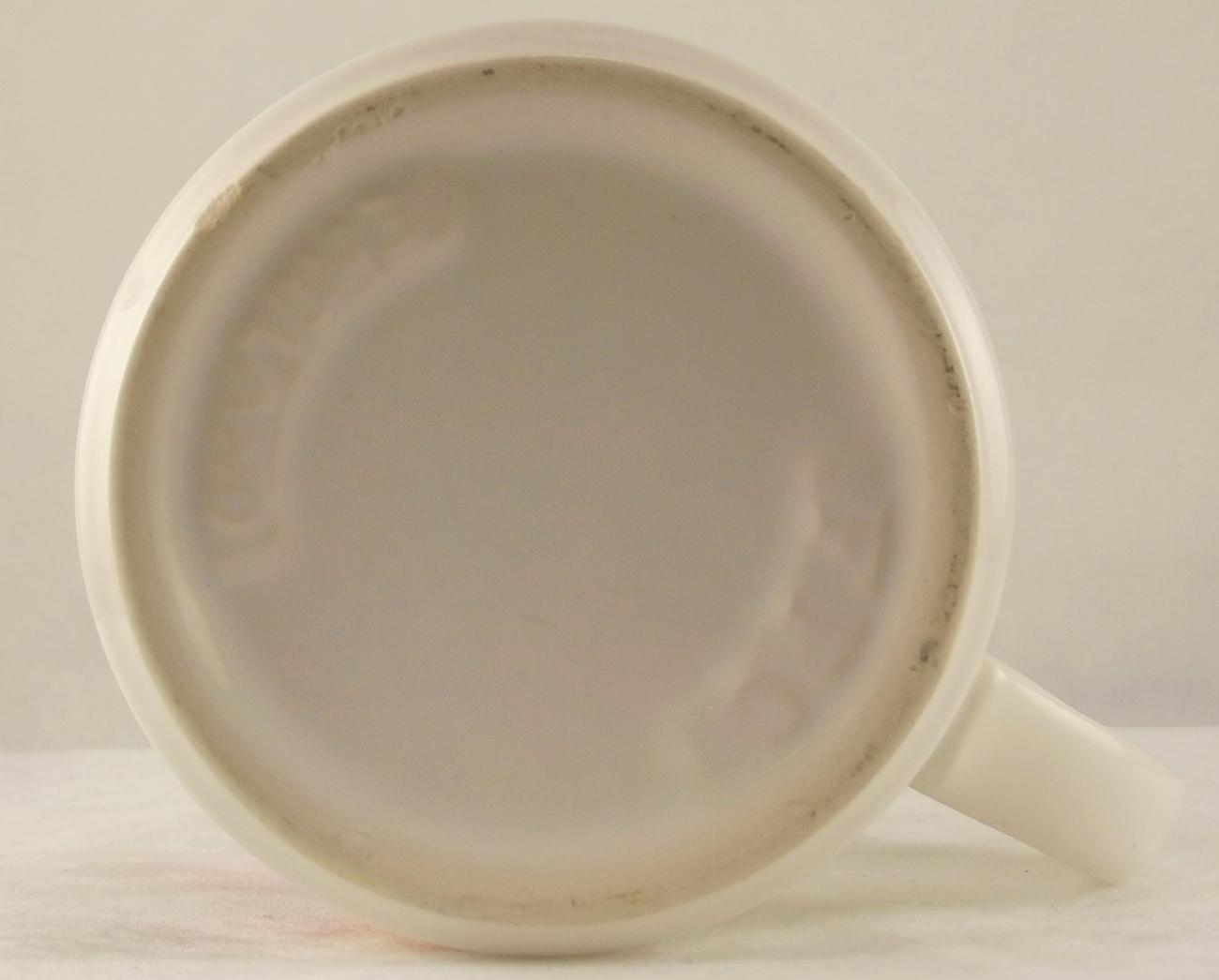 Vintage Christmas coffee mug FPC England colorful collectible