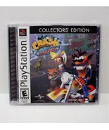 Crash Bandicoot Warped COLLECTORS' EDITION Sony PlayStation 1 PS1 - $21.99