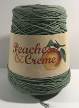 Peaches & Cream Yarn Skien 4-ply 14 oz 100% Cotton Color-Avocado 1AA91 - $18.33