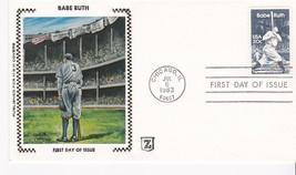 BABE RUTH #2046 CHICAGO, IL JULY 6, 1983 Z SILK CACHET D-612 - ₹228.14 INR