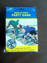 New in Package SOCCER Party Bend-n-Twist Game With Spinner Dial From Amscan - $11.88