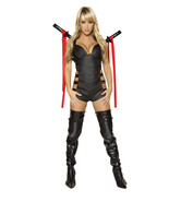 Roma Sexy Assassin Ninja Warrior Halloween Comp... - $85.00
