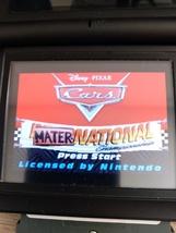 Nintendo Game Boy Advance GBA Cars Mater National image 1