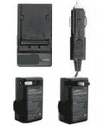 TWO BP-809 BP-809B Batteries + Charger for Canon FS11 FS20 FS200 FS21 FS... - $53.91