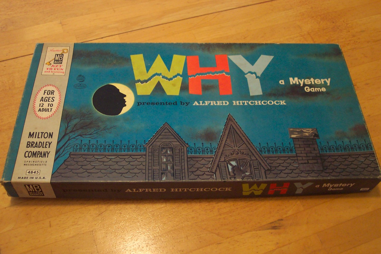 "1961 ""WHY"" a Mystery Board Game"
