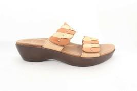 VINTAGE Dansko Dee Sandals Slides Wedges Beige/ Brown size 38  ( ) - $112.20