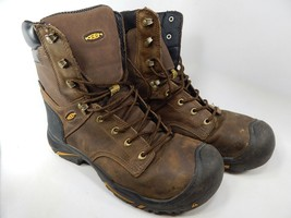 "Keen Mt. Vernon 8"" Size 12 M (D) EU 46 Men's Steel Toe WP Work Boots 1013257"