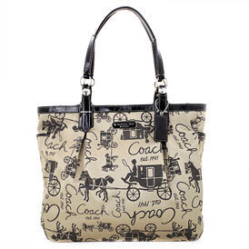 COACH Gallery Horse And Carriage NS Tote NWT 15157
