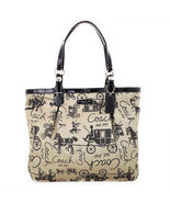 COACH Gallery Horse And Carriage NS Tote NWT 15157 - $358.00