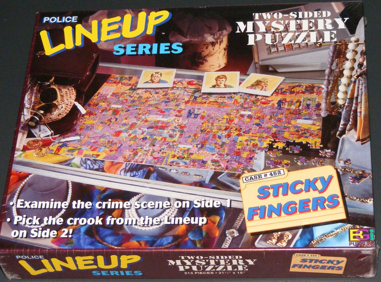 Primary image for Police Lineup Sticky Fingers Mystery Puzzle