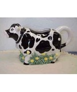 Black and White Holstein Cow Water Pitcher~Youngs Kitchen - $18.00
